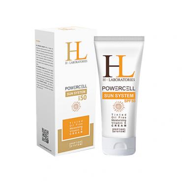 کرم ضد آفتاب رنگی با H-Laboratories SPF50