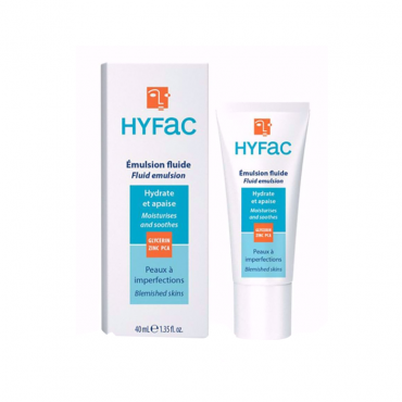 فلوئید مناسب پوست های چرب دارای آکنه Hyfac