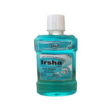 دهانشویه آنتی سپتیک بدون الکل Irsha 250ml