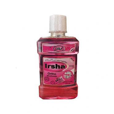 دهانشویه ارتودنسی آنتی پلاک Irsha 250ml