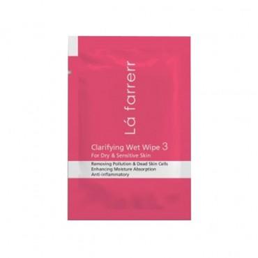 دستمال مرطوب پاکسازی کننده پوستهای خشک و حساس Lafarrerr
