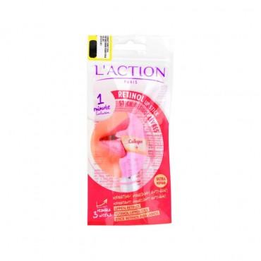 استیک آنتی ایجینگ و کلاژن ساز لب L'ACTION