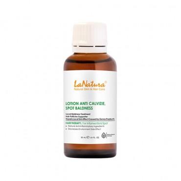 محلول تخصصی ضد ریزش و محرک رویش مو مناسب برای ریزش موی سکه ای LaNatura