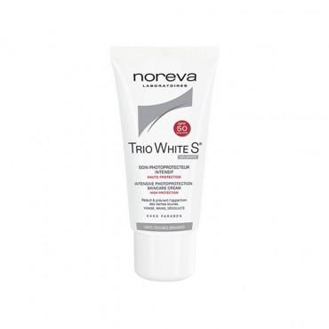 ضد آفتاب و ضد لک تریو وایت اس noreva SPF50