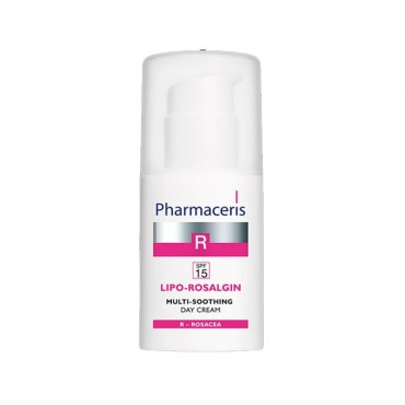 کرم تسکین دهنده صورت لیپو روزالجین SPF ۱۵ Pharmaceris