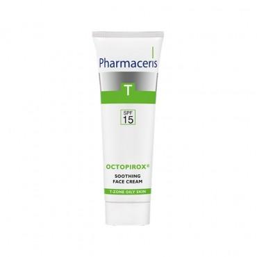 کرم تسکین دهنده با SPF۱۵ اکتوپیروکس Pharmaceris