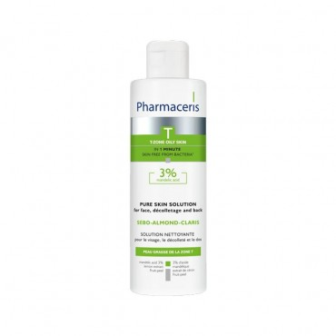 لوسیون آنتی باکتریال پاک کننده سبو الموند کلاریس Pharmaceris