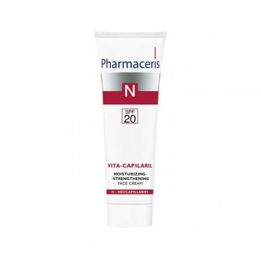 کرم مرطوب کننده SPF 20 ویتا کاپیلاریل Pharmaceris