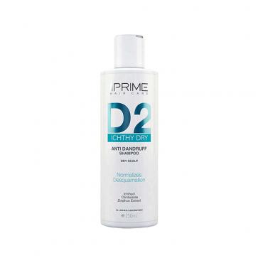 شامپو ضد شوره پوست سر خشک دی Prime 2