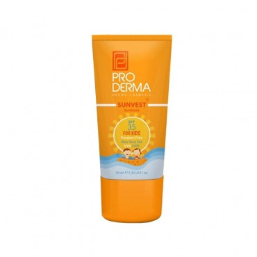 کرم ضد آفتاب کودک ProDerma