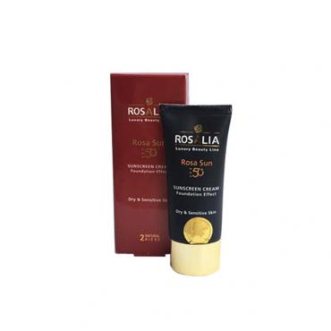 كرم ضد آفتاب رنگی 2 مخصوص پوست خشک Rosalia