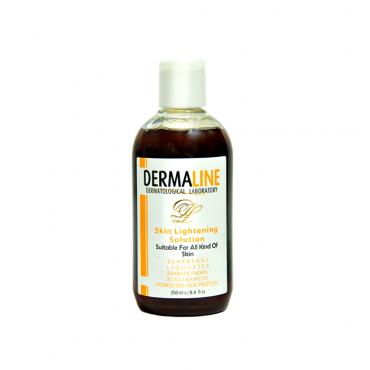 تونر روشن کننده پوست Dermaline