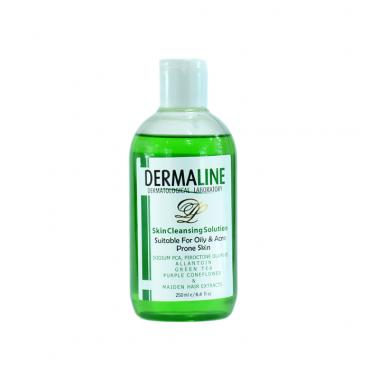 تونر پاک کننده پوست چرب Dermaline