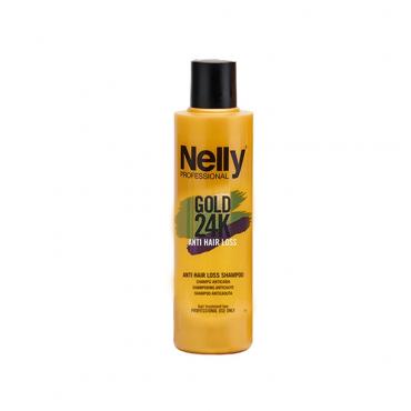 شامپو تقویتی شوک ضد ریزش گلد Nelly