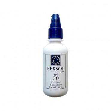 لوسیون ضدآفتاب بدون چربی REXSOL SPF30