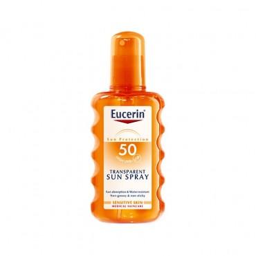 اسپری ضد آفتاب ترانسپرنت Eucerin spf 50