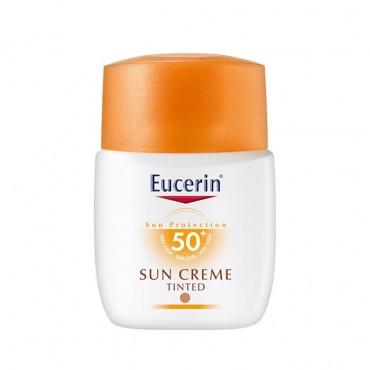 کرم ضد آفتاب SPF50 رنگی Eucerin