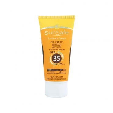 كرم ضد آفتاب فاقد چربی SunSafe SPF 35