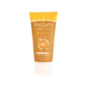 كرم ضد آفتاب برنزه كننده SunSafe SPF 40