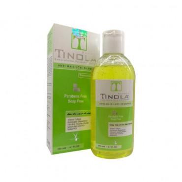 شامپو تقویت کننده مو مناسب پوست سر چرب و موی خشک TINOLA