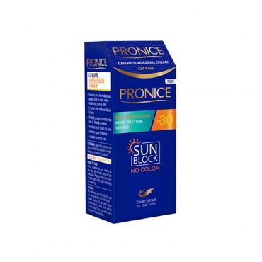 ضد آفتاب بی رنگ خاویار Pronice