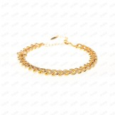 دستبند کارتیر ZJ طلایی Tandis 2295