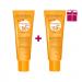 پکیج دوعددی ضد آفتاب فتودرم مکس آکوا فلوئید با SPF50 مناسب پوست چرب و مختلط Bioderma (بژ طلایی)