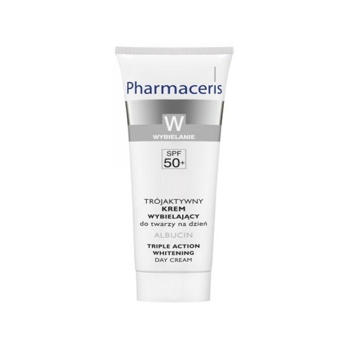 کرم روز روشنکننده و ضدلک با SPF۵۰ آلبوسین Pharmaceris