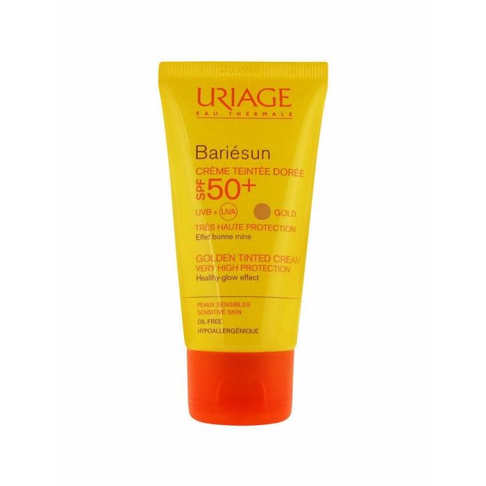 کرم ضد آفتاب فاقد چربی رنگی بری رسان Uriage SPF 50