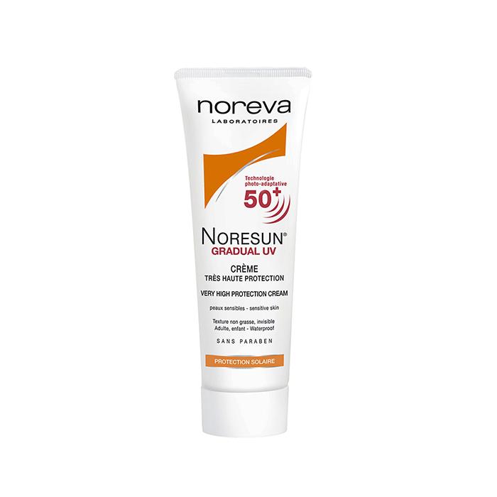 کرم ضد آفتاب نورسان گرجوال SPF50 Noreva