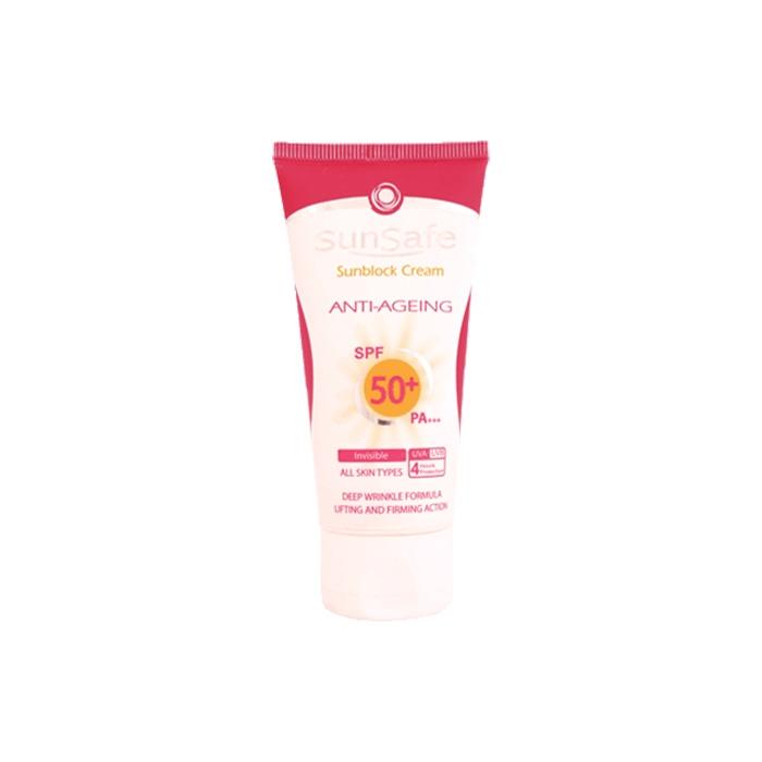 كرم ضد آفتاب و ضد چروک +SunSafe SPF 50