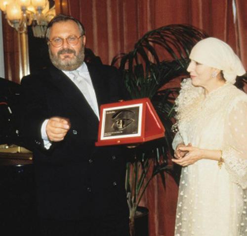 جان فرانکو فره برنده جایزه چشم طلایی