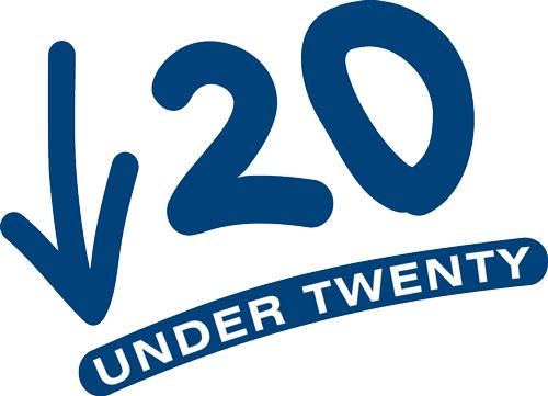 Under Twenty logo