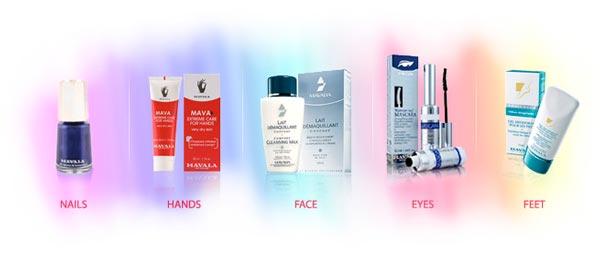 Mavala products