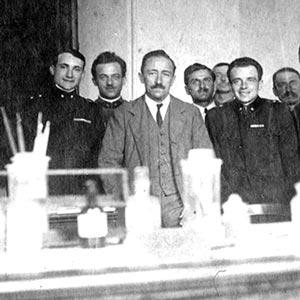 افتتاح انستیتو تحقیقات بیوشیمی گاناسینی 1935