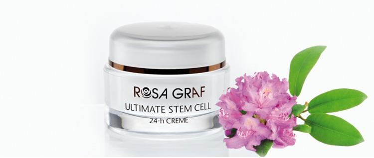کرم 24 ساعته جوان کننده پوست Rosa Graf
